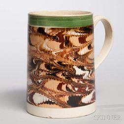 Creamware Quart Frog Mug