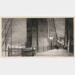 Stow Wengenroth (American, 1906-1978)      Manhattan Gateway