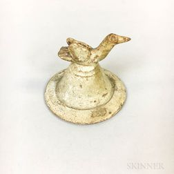 Qingbai-style Pottery Jar Cover.     Estimate $100-200