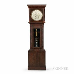 John Stokell Mahogany Astronomical Floor Regulator