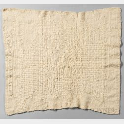 Sheila Hicks (b. 1934) Study for White Letter   Textile