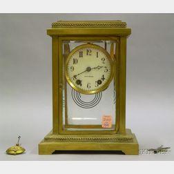 Seth Thomas Crystal Regulator Mantel Clock