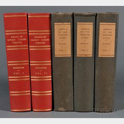 Doran, John (1807-1878) Their Majesties' Servants, Annals of the English Stage.