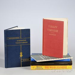 Six Books on Violin Varnish