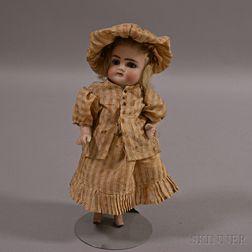 All Bisque Wrestler Doll