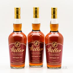 Weller Antique, 3 750ml bottles Spirits cannot be shipped. Please see http://bit.ly/sk-spirits for more info.
