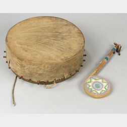 Two Native American Drums