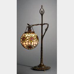 Mosaic Glass Table Lamp, Probably Bigelow & Kennard