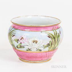 English Porcelain Jardiniere