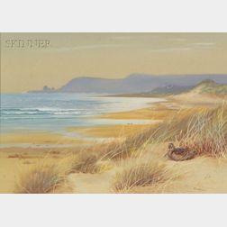 Philip Rickman (British, 1891-1982)    In the Dunes
