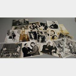 Twenty-one Assorted Publicity Photographs