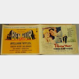 Pillow Talk   and Ben Hur   Movie Posters