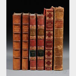 Theater Biography and British Stage, Four Titles in Six Volumes: