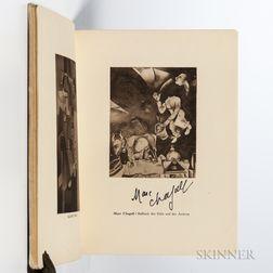 Chagall, Marc (1887-1995) and Herwarth Walden (1879-1941) Erster Deutscher Herbstsalon, Berlin 1913  , Signed by Chagall.