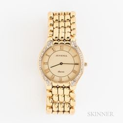 Juvenia Biarritz 18kt Gold and Diamond Wristwatch