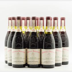 Chateau Beaucastel Chateauneuf du Pape 1989, 10 bottles