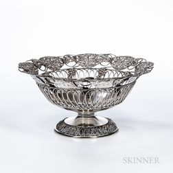 Ferdinand Fuchs & Bros. Sterling Silver Fruit Basket