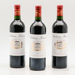 Chateau Kirwan 2005, 3 bottles
