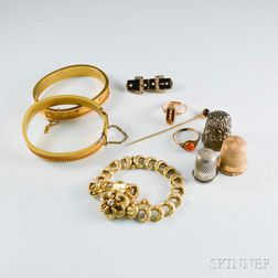Group of Victorian Jewelry