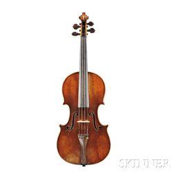 French Violin, Probably Jules Grandjon, c. 1860s