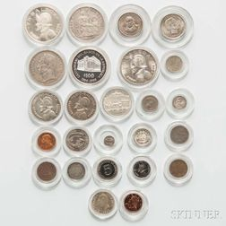 Group of Assorted South American Coins