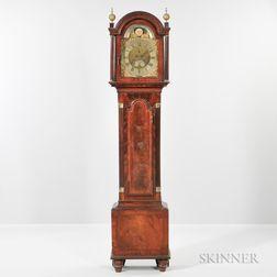 Martin Thomas Mahogany Veneered Longcase Clock