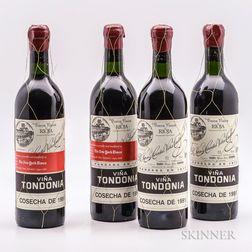 R. Lopez de Heredia Vina Tondonia Gran Reserva 1991, 4 bottles