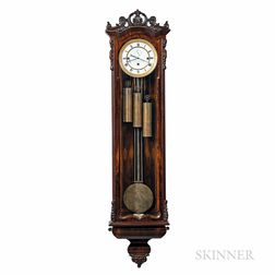 Rosewood Grand Sonnerie Vienna Regulator
