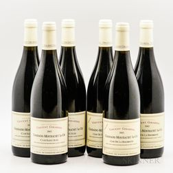 Vincent Girardin, 6 bottles