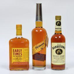 Mixed Whiskey, 3 750ml bottles