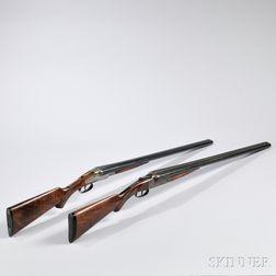 Two Double-barrel Shotguns