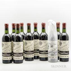 R. Lopez de Heredia Vina Tondonia Gran Reserva 1994, 10 bottles