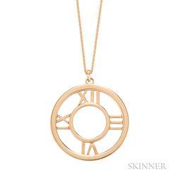 "18kt Gold ""Atlas"" Pendant Necklace, Tiffany & Co."
