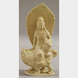 White Ware Manjushri