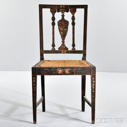 Fancy-painted Chair