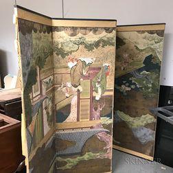 Japanese Six-panel Folding Screen