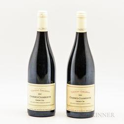 Vincent Girardin Charmes Chambertin 2005, 2 bottles