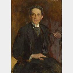 Emil Fuchs (American, 1866-1929)  Portrait of Forbes Robertson