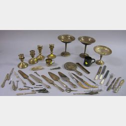 Group of Miscellaneous Sterling Silver Articles
