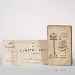 Nutting, Benjamin Franklin (c. 1803-1887) The Pioneer Drawing Cards.