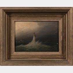 Clement Drew (Massachusetts, 1806-1889)      Minott Light