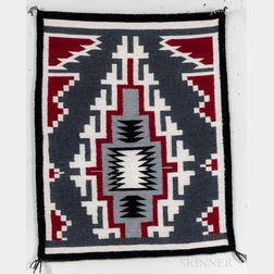 Small Contemporary Navajo Textile
