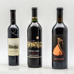 Mixed USA Reds, 1 demi bottle 2 bottles