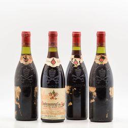 Clos du Mont Olivet Chateauneuf du Pape 1985, 4 bottles