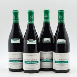 Henri Gouges Nuits St. Georges Les St. Georges 1995, 4 bottles