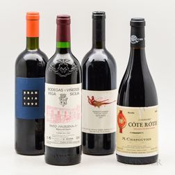 Mixed Wines, 4 bottles