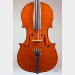 Modern Italian Violin, Probably Giuseppe Lecchi, Genoa, 1939