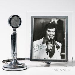 "Stainless Steel ""Silver Eagle"" Desktop Public Address Microphone"