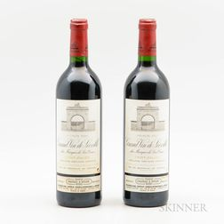 Chateau Leoville Las Cases 2000, 2 bottles