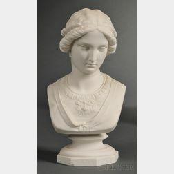 Parian Bust of Portia